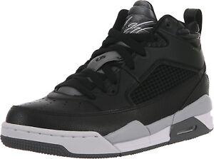 1b7224f57dc 654975-003 Nike Air Jordan Flight 9.5 (GS) Black Cool Grey Wolf Grey ...