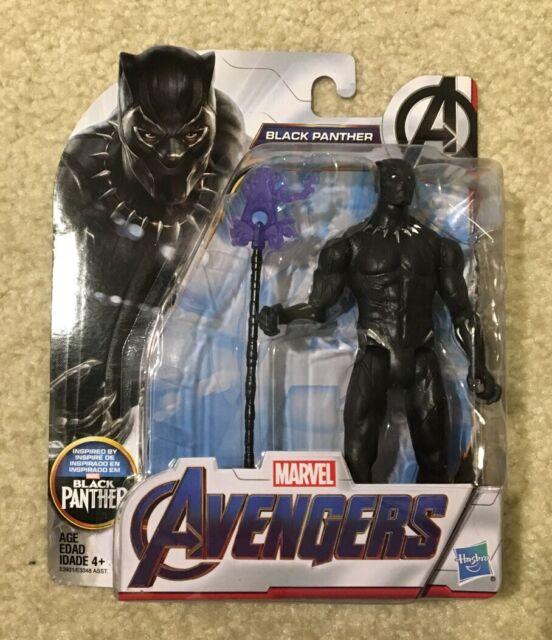 "Marvel Avengers Black Panther 6"" Toy Action Figure Marvel Super Hero Hasbro NEW"