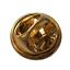 縮圖 3 - Batsman Cricket Player Batting Pin Badge
