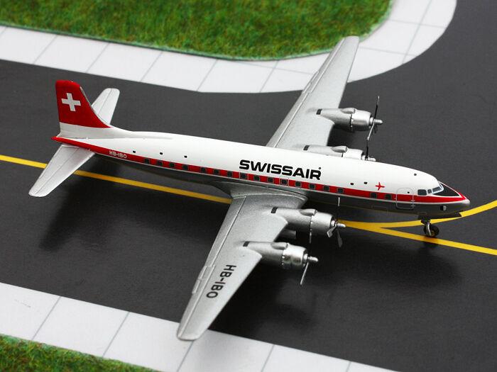 Swissair DC-6 (HB-IBO), 1 400 Gemini Jets