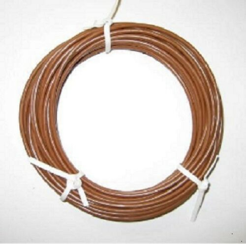 KFZ Kabel Litze Leitung FLRy 0,75mm² 10m Braun Fahrzeug Auto LKW Fahrzeugleitung