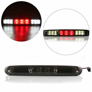 3RD-Third-brake-cargo-LED-Rear-light-lamp-fits-07-13-Chevy-Silverado-GMC-Smoked