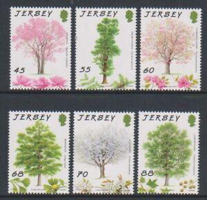 Jersey-2012-Jersey-Arbres-Pour-Ensemble-Vie-MNH-Sg-1667-72