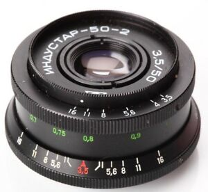 US-Seller-Industar-50-2-50mm-f3-5-Russian-Bokeh-portrait-Lens-DSLR-M42-Mount-Old