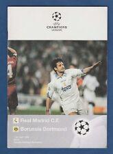 Orig.PRG  Champions League 1997/98   REAL MADRID - BORUSSIA DORTMUND  1/2 FINALE