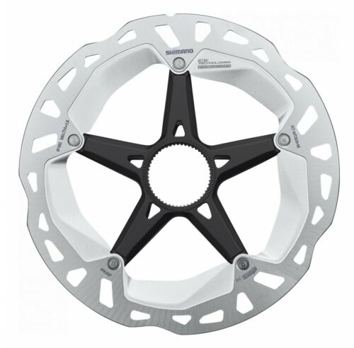 New Shimano XT Rotor RT-MT800 Center Lock,180mm with Lockring Internal Toothing