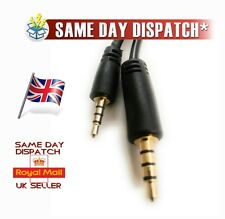 *NEW* 3.5 mm - 2.5mm TRRS Audio jack Cable for JBl V300 BT/JBL V700 headphones