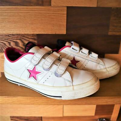 Converse Leather One Star V3 White x Pink Made in Japan Men's size 8 Rare Used   eBay