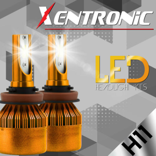 XENTRONIC LED 80W 9000LM 6000K 6K White 3-Sided All in One Kit Headlight H11