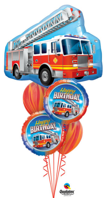 Fireman Firefighter Fire Engine Party Supplies Mini Birthday Cake Candles For Sale Online