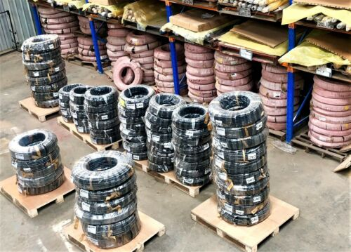 Hydraulic Hose, Two Braid, Nonskive, Order Per Roll 14,38,12,58,34,1""