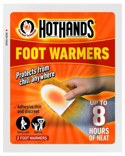 Hothands Hand Warmers /& Foot Warmers Pocket Warmers Glove in 1 2 5 10 20 40 Pack