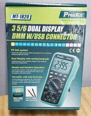 Professional Grade Digital ProsKit MT-1820 Multimeter