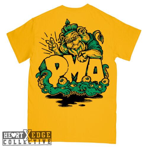 POSTIVE MENTAL ATTIDUTET-Shirt Straight Edge Hardcore PMA Shelter Bad Brains