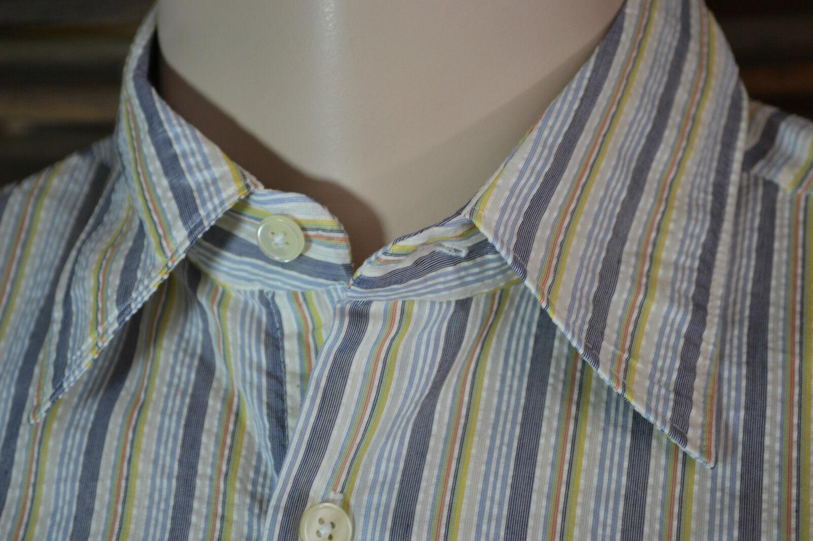 NEU   HUGO BOSS BOSS BOSS Herren Ober Hemd mens shirt chemise L 42 kurzarm neu  NEW | Hohe Sicherheit  ea28cb