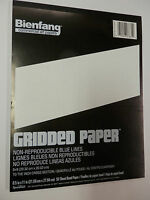 8 X 8 Graph Grid Paper Pad Non-reproducing Blue Lines 8-1/2 X 11 50 Sheets
