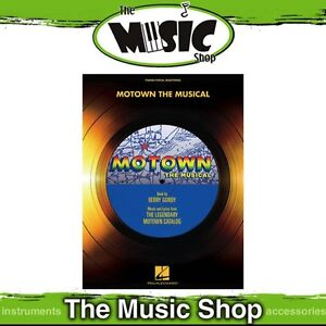 New-Motown-the-Musical-Vocal-Selections-Music-Book-Piano-amp-Vocal-Songbook