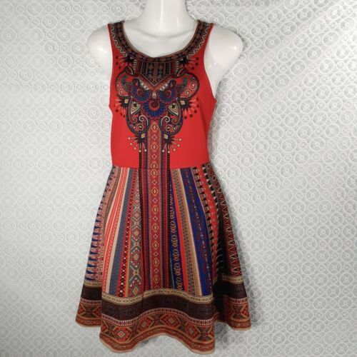 Flying Tomato Dress Womens  Size S Fit Flare  Trib