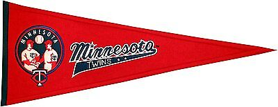 Fanartikel Baseball & Softball Mlb Baseball Minnesota Twins Banner Großer Wimpel Pennant Heritage Wolle Im Sommer KüHl Und Im Winter Warm