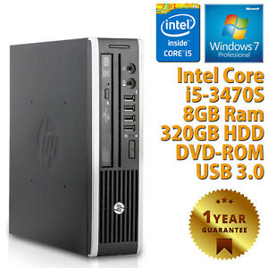PC-MINI-COMPUTER-DESKTOP-RICONDIZIONATO-HP-QUAD-CORE-i5-3470S-8GB-320GB-WIN-7