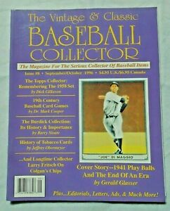 8-Sept-Oct-1996-The-Vintage-amp-Classic-Baseball-Collector-Magazine-VCBC