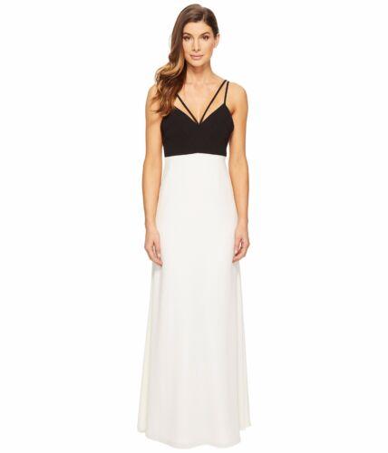 Jill Nordstrom tone Black Strappy Stuart Ivory Nieuwe two jurkjurk 2298 maat L354jARcSq