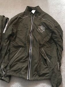 bb45dcd03e0a5 USMC Issue NEW BALANCE PT MARINES Running Suit ZIP UP JACKET And ...