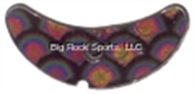 "Mack's Lure 65209 Smile Blade, 1.1"" Black Scale, 5/Pack"