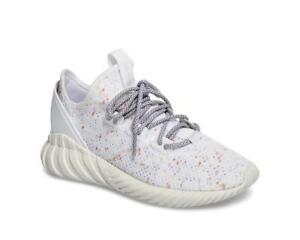Details about Adidas Tubular Doom Sock J White Pink Trainers Running Shoes 8 8.5 Womens RARE