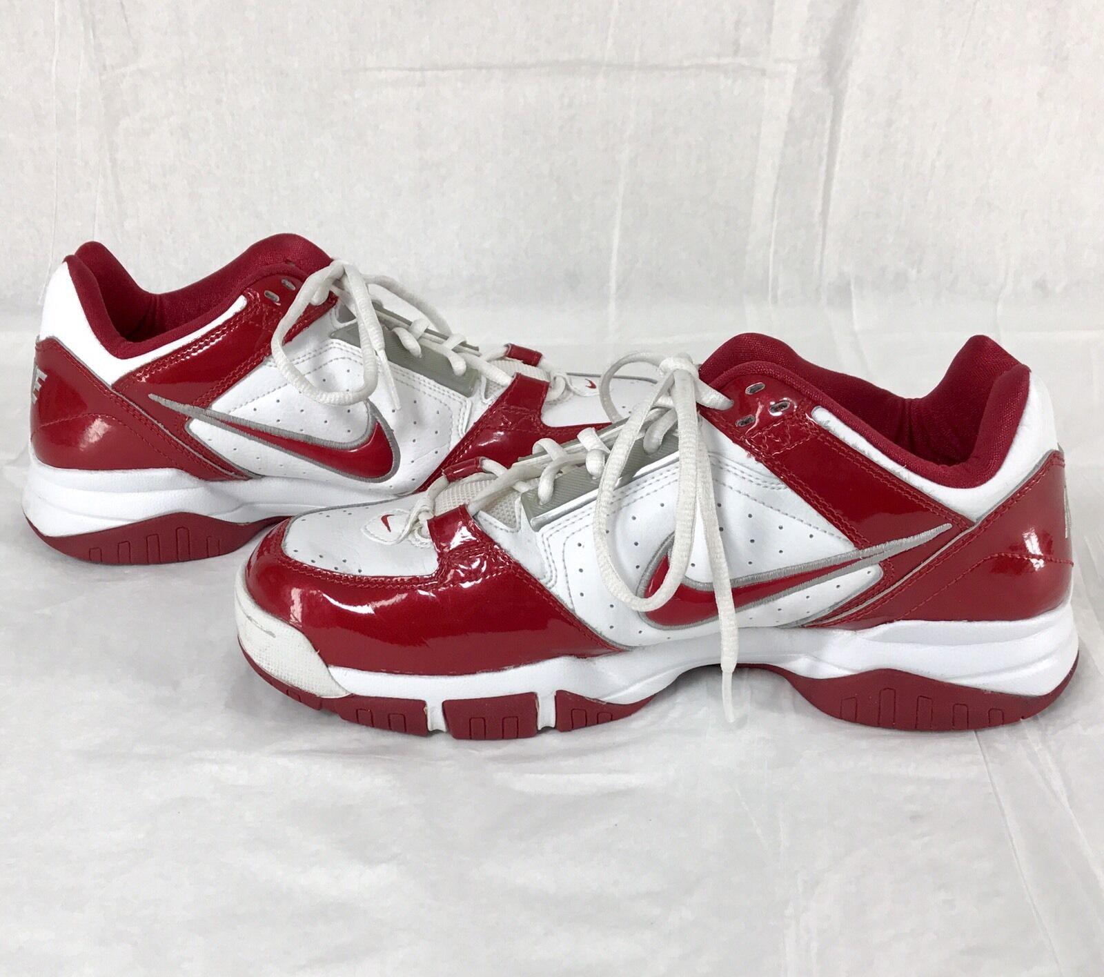 Nike temporada Air Rojo Blanco baja temporada Nike 2018 zapatos Hombre cómodo despacho venta 43e8eb