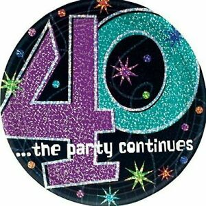 Birthday 1947 40th Birthday 40th Birthday Party Birthday Party Plate Cheers Party Plates 7 Size Cake Plates Plate Party Plate