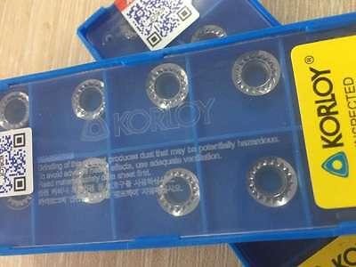 10pcs RCGT10T3MO-AK H01 R5 inserts Used for Aluminum