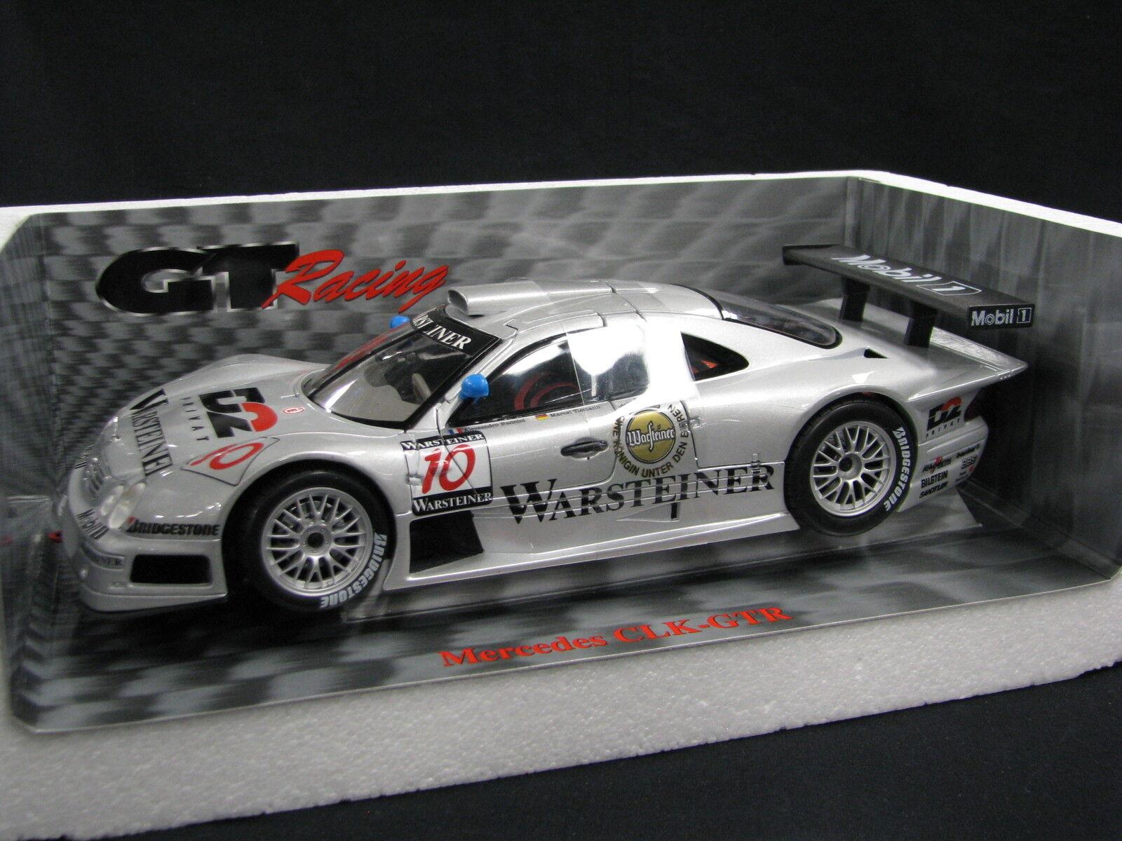 Maisto D2 Mercedes-Benz CLK-GTR 1997 1 18  10 Nannini   Tiemann FIA GT (JS)