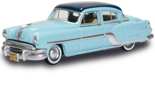 Hellblau//Blau Oxford 87PC54001 201129511-1//87 H0 Pontiac Chieftain 1954
