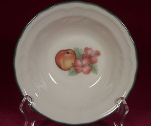 Image is loading Epoch-Collection-Noritake-Market-Day-Cereal-Soup-Bowl- & Epoch Collection Noritake Market Day Cereal Soup Bowl (s) Peach ...