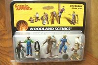 Woodland Scenics City Workers O Scale Figures