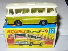 MATCHBOX SUPERFAST MODEL No.12 SETRA COACH  MIB