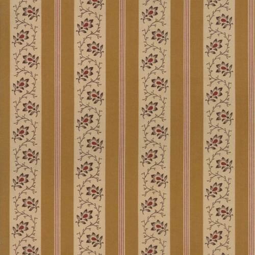 Moda Fabric Spice It Up Stripe Golden Yellow Per 1//4 Metre