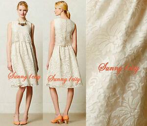 a6387dd941042 NEW Sz 4 6 Anthropologie Magnolia Lace Dress By Alexandra Grecco ...