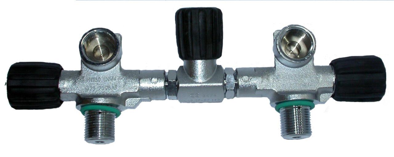 Beaver 232 Bar Twin 5.5  Cylinder Manifold M26 Thread M25x2 EN144-1
