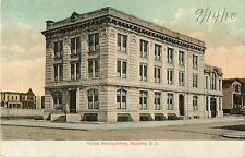 A View of the Police Headquarters, Bayonne NJ 1910