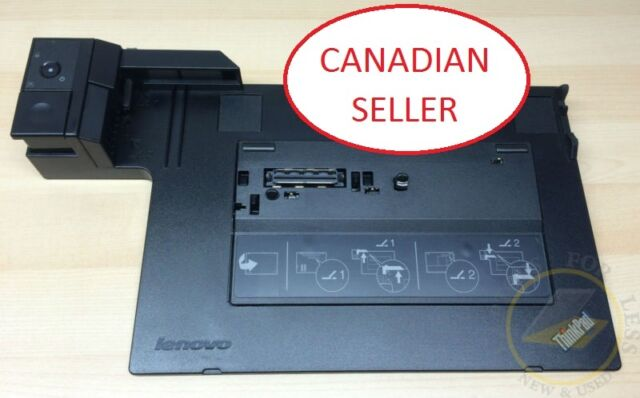 Lenovo 4337 Mini Dock Plus Series 3 For T410, T420, T410s,T510 - NO KEYS