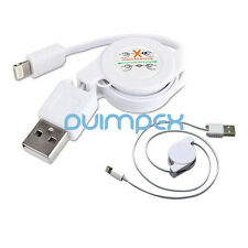 F11 iPhone 5 Ladekabel USB Daten Kabel Adapter Sync Kabel ausziehbar 80cm