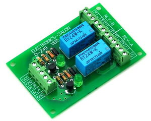 Two-DPDT-Signal-Relay-Module-Board-DC24V-Version-for-PIC-Arduino-8051-AVR