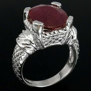 LDN-Bague-Blood-Red-Rubis-Argent-925-T-55