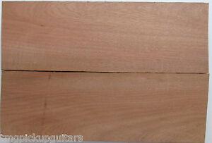 Body Korpus Rohling blank Tonholz zweiteilig Mahagoni perfekt laufende Meter