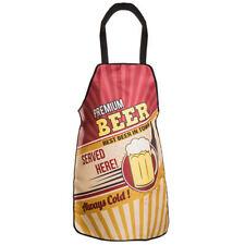 Vintage Style Premium Beer Served Here Kitchen Apron Cook Chef Wear Bbq