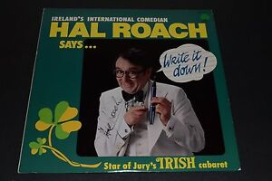 Ireland-039-s-International-Comedian-Hal-Roach-Says-Write-It-Down-AUTOGRAPHED