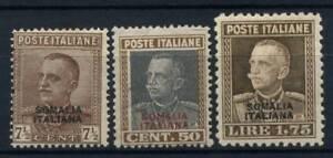 Somalia-1928-Sass-116-118-Nuovo-100-Somalia-Italiana