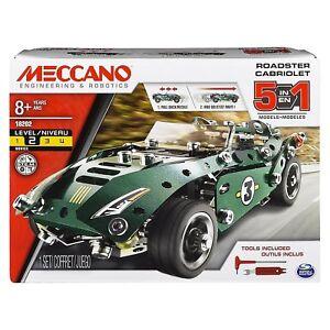 Meccano 5 Model Roadster Building Kit